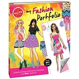 My Fashion Portfolio Book Kit-