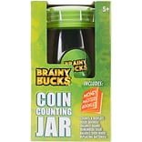 Brainy Bucks Coin Counting Jar-