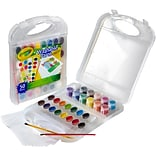 Crayola Washable Paint & Paper Set-