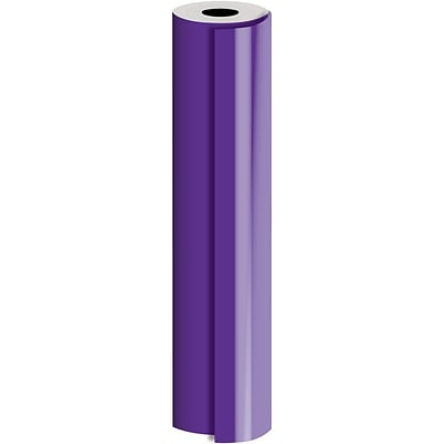 JAM Paper® Industrial Size Bulk Wrapping Paper Rolls, Matte Pastel Purple, (2082.5 Sq. Ft.), Sold Individually (165J90330833)