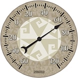 Springfield Precision 10 Tempered Glass Dial Thermometer, Fractal (98327)