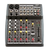 Pyle 10 Channel Balanced Studio Grade IMP Audio Mixer with Pre-Amp (PEXM801)