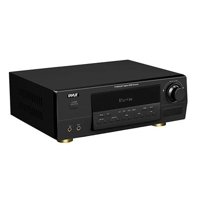 Pyle Home Bluetooth 5.1 Channel Amplifier Receiver Digital Home Theater Stereo System (PT595AUBT)