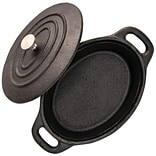 Starfrit 5.3 Mini Cast-Iron Cocotte with Lid (062143-008-0000)