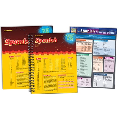Quickstudy Spanish Reference Pack (238072)