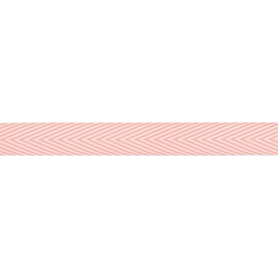 Twill Chevron Stripe Ribbon 3/4X30yd-Pink