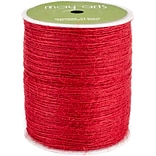 Burlap String 1mmX400yd-Red