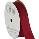 Grosgrain Ribbon 7/8X20yd-Cranberry