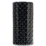 Gold Sparkle Tulle 6 Wide 25yd Spool-Black
