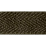 100% Cotton Twill Tape 5/8X55yd-Dark Brown