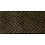 100% Cotton Twill Tape 1X55yd-Dark Brown