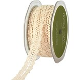 Crochet Ribbon 5/8X15yd-Natural
