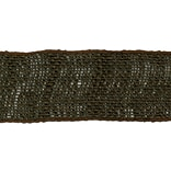 Wired Burlap Ribbon 2-1/2X10yd-Brown