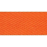 100% Cotton Twill Tape 1X55yd-Orange
