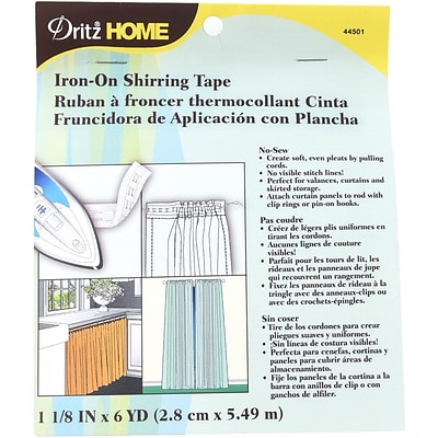 Dritz Iron-On Shirring Tape 1-1/8X6yd-