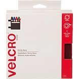 VELCRO(R) Brand STICKY BACK Tape 3/4X15-Red