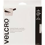 VELCRO(R) Brand Industrial Strength Low Profile Tape 1X10-Black