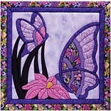 Butterfly Quilt Magic Kit-15.5X15.5