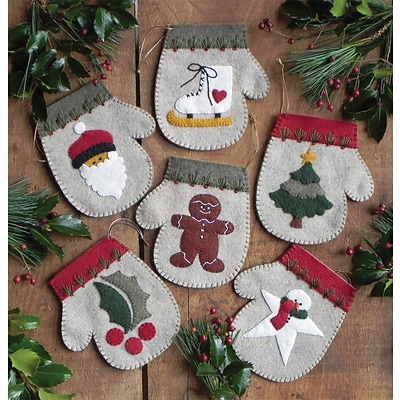 Warm Hands Ornament Kit 6/Pkg-4X4.5