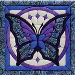 Butterfly Quilt Magic Kit-12X12