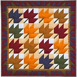Leaves Wall Quilt Kit-22X22