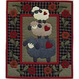 Wooly Sheep Wall Quilt Kit-13X15