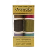 Crossroads Sulky Blendables 12wt 6/Pkg-Grand Collection