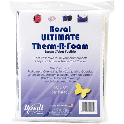Ultimate Therm-R-Foam Single Sided Fusible-18X58