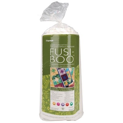 Fusi-Boo Bamboo Fusible Batting -Queen/King Size 100X116 FOB: MI