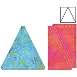 GO! Fabric Cutting Dies-Triangles In Square 4 By Eleanor Burns
