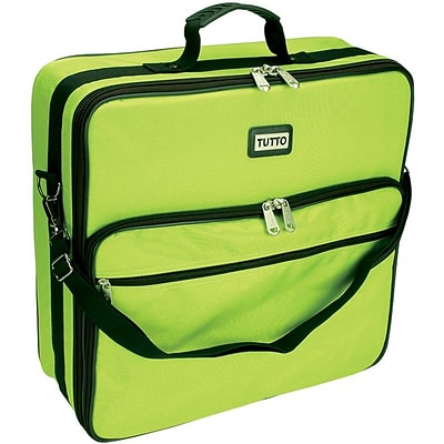 TUTTO Embroidery Bag-19X17X6 Lime