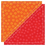 GO! Fabric Cutting Dies-Half Square - 4-1/2 Finished Triangle