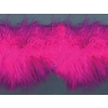 Feather Boa 1-1/2X10yd-Hot Pink