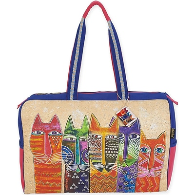 Travel Bag 21X8X16-Long Neck Cats