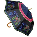 Laurel Burch Stick Umbrella 42 Canopy Auto Open-Dogs & Doggies