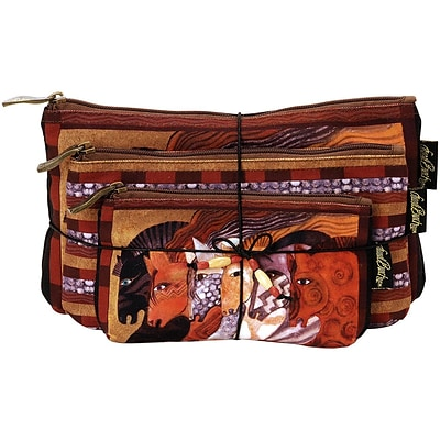 Cosmetic Bags 3/Pkg-Moroccan Mares