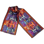 Laurel Burch Scarves-Three Amigos