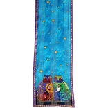 Laurel Burch Scarves-Celestial Felines