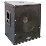 Pyle PASW15 15 Stage PA Subwoofer Cabinet 800-Watt Black