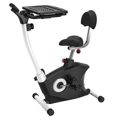 Serene Life Bicycle Pedaling Fitness Machine with Laptop Tray Black (93599610M)
