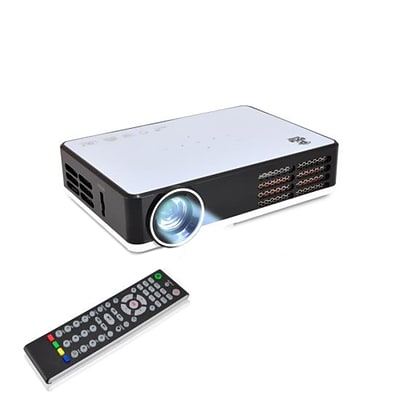 Pyle Home PRJAND805 1280 x 800 HD Mini Hi-Res Smart Projector White/Black