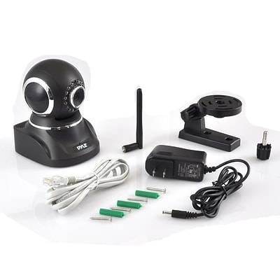 Pyle Home IP Cam / WiFi Security Camera Black (PIPCAMHD82BK)