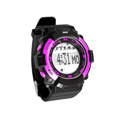 Pyle Sport Multi Function Sports Wrist Watch With Sleep Monitor, Pedometer, Step Counter And Stop Watch (psptr19pn)