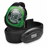 Pyle Bluetooth Fitness Heart Rate Monitoring Watch with Wireless Data Transmission and Sensor (PSBTH