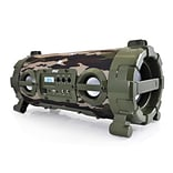 Pyle PBMSPG120CM Wireless & Portable Bluetooth BoomBox Speaker, Camouflage