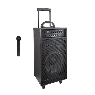 Pyle Pro PWMA1050BT Portable Bluetooth PA Speaker System Black