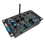 Pyle Pro Bluetooth 3-Channel DJ MP3 Mixer (PMX7BU)