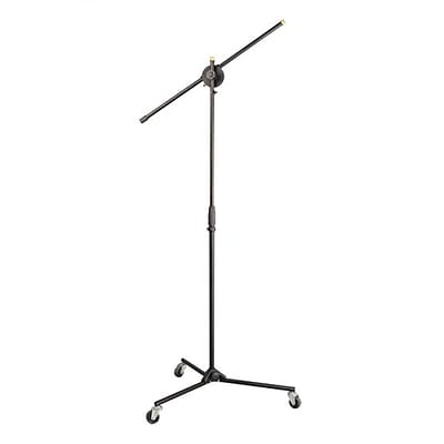 Pyle PMKS22 Universal Rolling Tripod Microphone Stand White