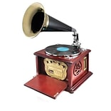 Pyle Home Retro Classic Style Bluetooth Turntable Phonograph Speaker System (PUNP32BT)
