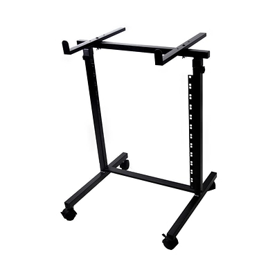 Pyle Pro 2 Post Open Frame Rack Shelf + Equipment/Device Stand (PDJSD2)